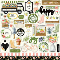 Carta Bella Paper - Spring Market Collection - 12 x 12 Cardstock Stickers