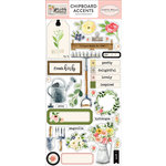Carta Bella Paper - Spring Market Collection - Chipboard Stickers - Accents