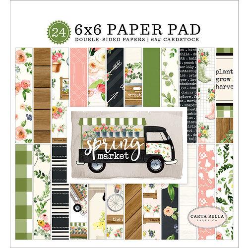 Carta Bella Paper - Spring Market Collection - 6 x 6 Paper Pad
