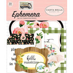 Carta Bella Paper - Spring Market Collection - Ephemera