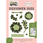Carta Bella Paper - Spring Market Collection - Designer Dies - Let Love Bloom