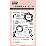 Carta Bella Paper - Spring Market Collection - Clear Acrylic Stamps - Let Love Bloom