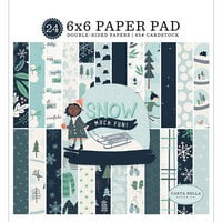 Carta Bella Paper - Christmas - Snow Much Fun Collection - 6 x 6 Paper Pad