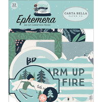 Carta Bella Paper - Christmas - Snow Much Fun Collection - Ephemera