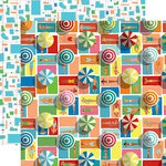 Carta Bella Paper - Summer Splash Collection - 12 x 12 Double Sided Paper - Fun in the Sun