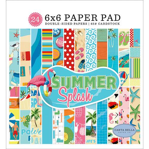 Carta Bella Paper - Summer Splash Collection - 6 x 6 Paper Pad