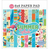 Carta Bella Paper - Summer Splash Collection - 6 x 6 Paper Pad