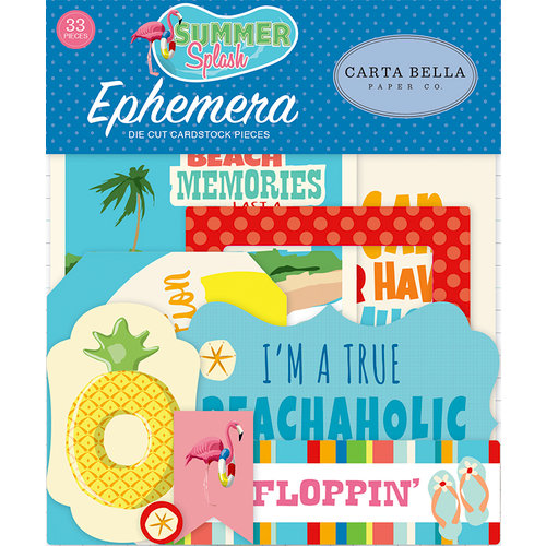 Carta Bella Paper - Summer Splash Collection - Ephemera