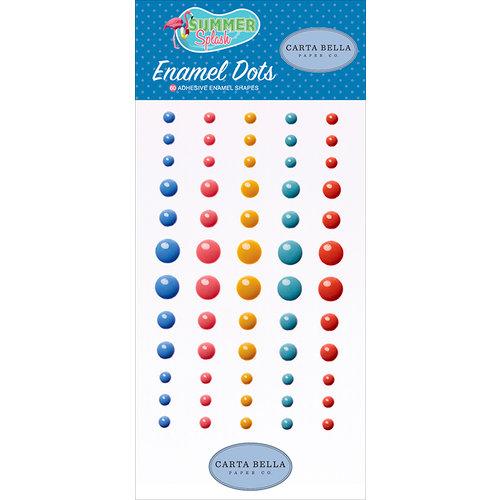 Carta Bella Paper - Summer Splash Collection - Enamel Dots