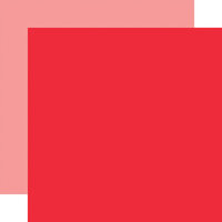 Carta Bella Paper - Summer Market Collection - 12 x 12 Double Sided Paper - Red