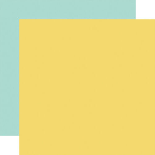 Carta Bella Paper - Summer Market Collection - 12 x 12 Double Sided Paper - Yellow