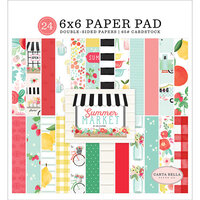 Carta Bella Paper - Summer Market Collection - 6 x 6 Paper Pad