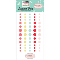 Carta Bella Paper - Summer Market Collection - Enamel Dots