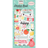 Carta Bella Paper - Summer Market Collection - Cardstock Sticker Book