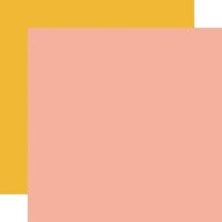 Carta Bella Paper - Sunflower Market Collection - 12 x 12 Double Sided Paper - Pink