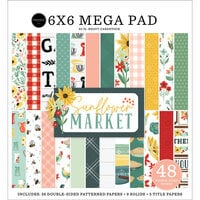 Carta Bella Paper - Sunflower Market Collection - 6 x 6 Mega Paper Pad