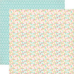 Carta Bella - Soak up the Sun Collection - 12 x 12 Double Sided Paper - Sprinkles