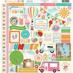 Carta Bella - Soak up the Sun Collection - 12 x 12 Cardstock Stickers