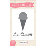 Carta Bella Paper - Soak Up The Sun Collection - Designer Dies - Ice Cream Scoop