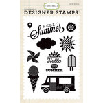 Carta Bella - Soak up the Sun Collection - Clear Photopolymer Stamps