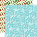 Carta Bella Paper - Santa's Workshop Collection - Christmas - 12 x 12 Double Sided Paper - Let It Snow