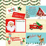 Carta Bella Paper - Santa's Workshop Collection - Christmas - 12 x 12 Double Sided Paper - 4 x 6 Journaling Cards
