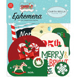 Carta Bella Paper - Santa's Workshop Collection - Christmas - Ephemera