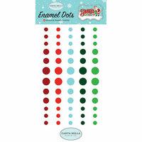 Carta Bella Paper - Santa's Workshop Collection - Christmas - Enamel Dots