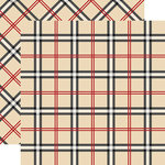 Carta Bella Paper - Tartan No. 1 Collection - 12 x 12 Double Sided Paper - Old English