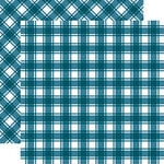 Carta Bella Paper - Tartan No. 1 Collection - 12 x 12 Double Sided Paper - Nantucket