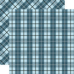 Carta Bella Paper - Tartan No. 1 Collection - 12 x 12 Double Sided Paper - Aberdeen