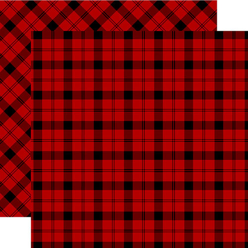 Carta Bella Paper - Tartan No. 2 Collection - 12 x 12 Double Sided Paper - Windsor Plaid