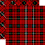 Carta Bella Paper - Tartan No. 2 Collection - 12 x 12 Double Sided Paper - Royal Stewart