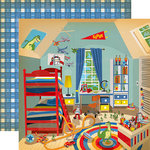 Carta Bella Paper - Toy Box Collection - 12 x 12 Double Sided Paper - Magic Toy Room