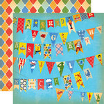 Carta Bella Paper - Toy Box Collection - 12 x 12 Double Sided Paper - Toy Banner