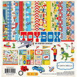 Carta Bella Paper - Toy Box Collection - 12 x 12 Collection Kit