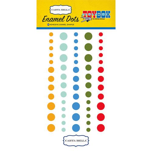 Carta Bella Paper - Toy Box Collection - Enamel Dots