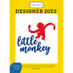 Carta Bella Paper - Toy Box Collection - Designer Dies - Little Monkey
