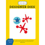 Carta Bella Paper - Toy Box Collection - Designer Dies - Ball and Jacks