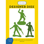 Carta Bella Paper - Toy Box Collection - Designer Dies - Army Men