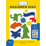 Carta Bella Paper - Toy Box Collection - Designer Dies - So Many Toys