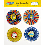 Carta Bella Paper - Toy Box Collection - Mini Paper Fans