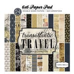 Carta Bella Paper - Transatlantic Travel Collection - 6 x 6 Paper Pad