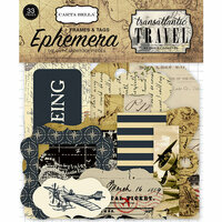 Carta Bella Paper - Transatlantic Travel Collection - Ephemera - Frames and Tags