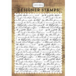 Carta Bella Paper - Transatlantic Travel Collection - Clear Acrylic Stamps - Travel Journal A2