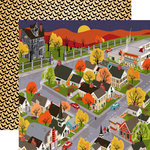 Carta Bella - Trick or Treat Collection - Halloween - 12 x 12 Double Sided Paper - The Big Night