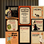 Carta Bella - Trick or Treat Collection - Halloween - 12 x 12 Double Sided Paper - Halloween Carnival