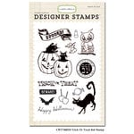 Carta Bella - Trick or Treat Collection - Halloween - Clear Photopolymer Stamps - Trick Or Treat