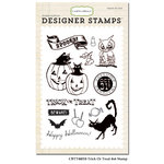 Carta Bella - Trick or Treat Collection - Halloween - Clear Acrylic Stamps - Trick Or Treat
