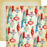 Carta Bella Paper - A Very Merry Christmas Collection - 12 x 12 Double Sided Paper - Christmas Bells